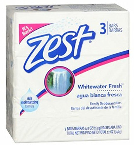 Zest 3-Bar Whitewater Fresh 4oz
