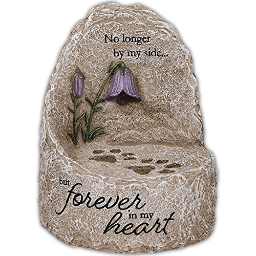 """Our Heart"" Heavenly Lights LED Message Stone"