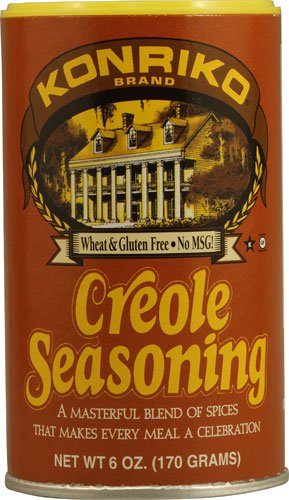 Conrad Rice Mill (Konriko) Creole Seasoning 6 oz.