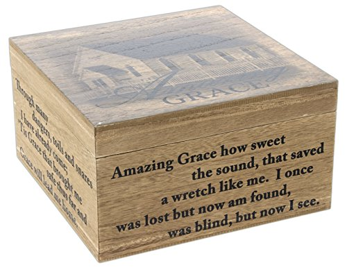 """Amazing Grace"" Keepsake Memory Box`"
