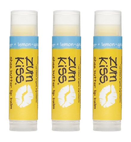 Zum Kiss Lip Balm Stick - Lemon Ginger, 0.15 oz