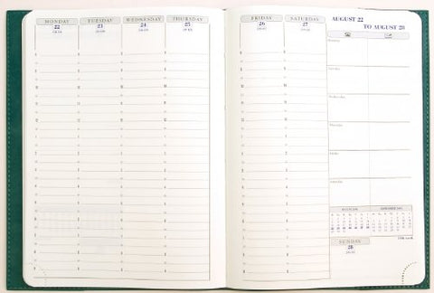 Exacompta Planners, Visual, Plain Edge Refill, Calendar Year, Weekly Medium, 2018