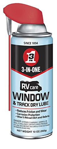 3-IN-ONE RVcare Window & Track Dry Lube, 10 oz