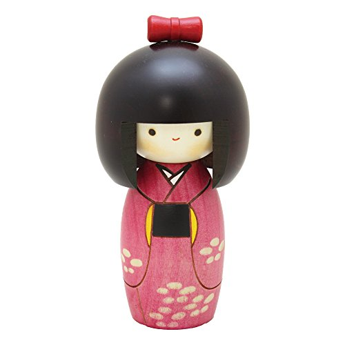 Kyoohoo Kokeshi Doll Spring winds - 14.2 cm