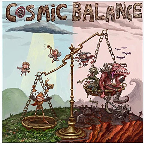 Worldwise Imports Cosmic Balance, Medium, Blue