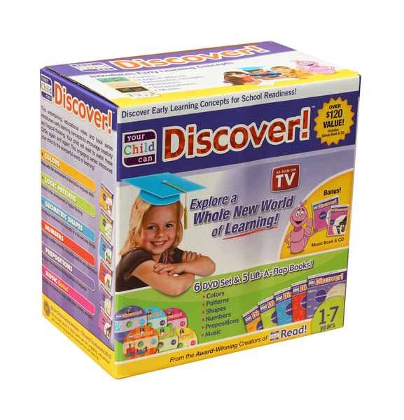 Your Child Can Discover! A Science-Based Approach to Learning DVD and CD Entertaining and Educational Video Series