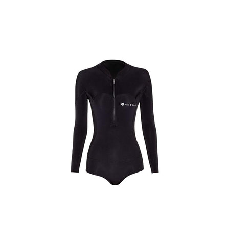 Adelio Harper 2/2 Ladies Black Long SLeeve Bikini Spring Wetsuit
