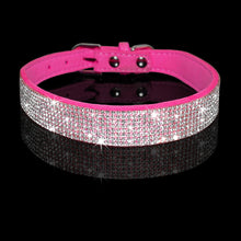 Load image into Gallery viewer, Jewelled Collar & Leash Set Made of Soft Rhinestone