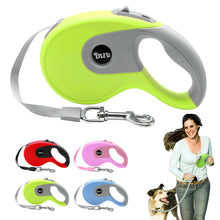 Load image into Gallery viewer, 5m Retractable Dog Leash Automatic Extending Walking Lead For Medium Large Dogs Up to 88lbs Tangle Free