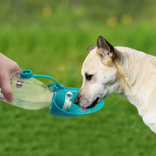 Load image into Gallery viewer, 580ml Sport Portable Pet Dog Water Bottle Expandable Silicone Travel Dog Bowl For Puppy Cat Drinking Outdoor Water Dispenser