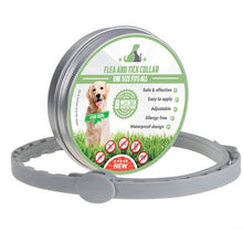 Load image into Gallery viewer, Anti Flea Ticks Mosquitoes Protective Adjustable Pet Collars 8 Months Long-term Protection