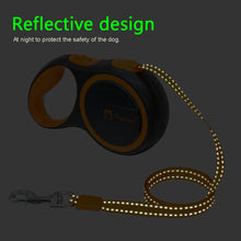 Load image into Gallery viewer, Dog Leash Retractable Automatic Dog Leash Pet Puppy Extending Walking Lead Running Leashes Rope For Small Medium Dogs 3m 5m
