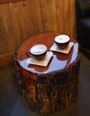 The campfire coffee table