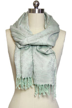 Load image into Gallery viewer, Floral Woven Scarf