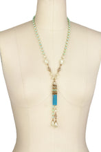 Load image into Gallery viewer, Chandelier Long Tassel Necklac