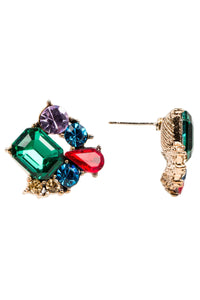 Color Cluster Earring
