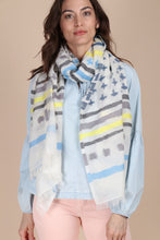 Load image into Gallery viewer, Crossing Paths Striped Scarf