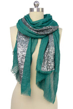 Load image into Gallery viewer, Shimmer Sequined Scarf