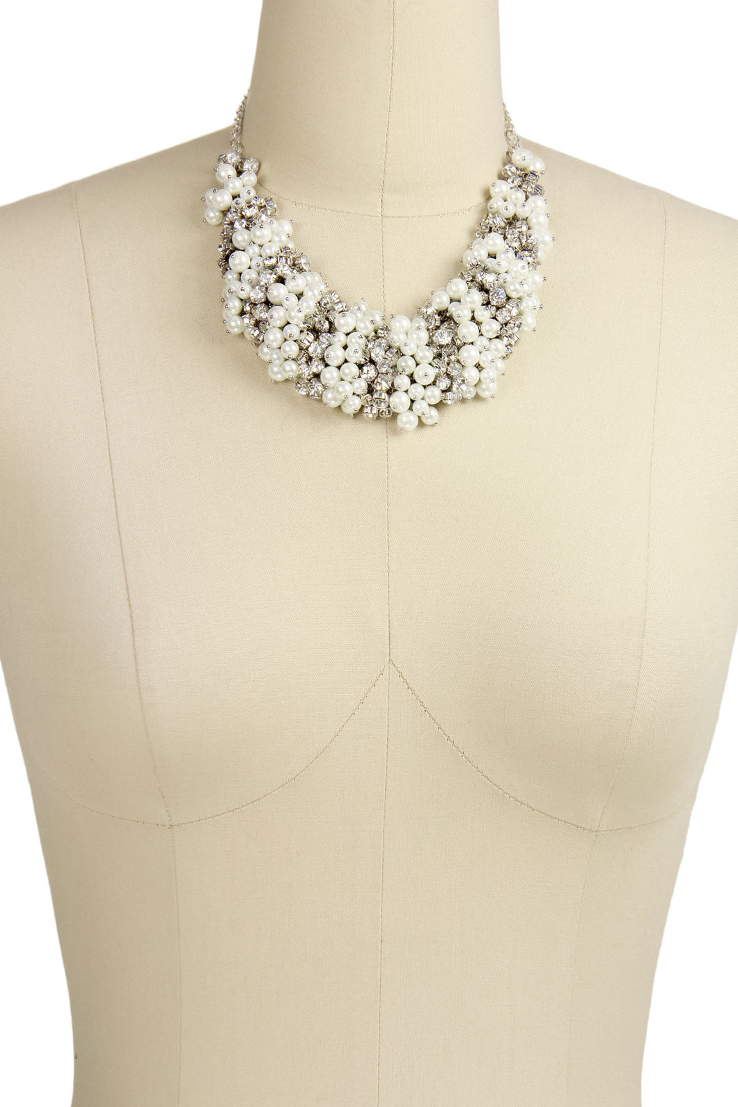 Pearl and Crystal Statement Ne