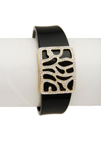 Load image into Gallery viewer, Zebra Cuff  Black
