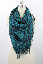 Load image into Gallery viewer, Zebra Print Woven Scarf