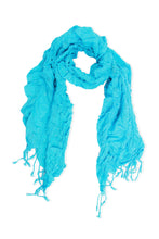 Load image into Gallery viewer, Ruffle Sparkle Scarf