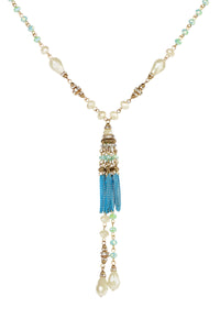 Chandelier Long Tassel Necklac