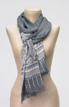 Load image into Gallery viewer, Zuri Paisley Scarf
