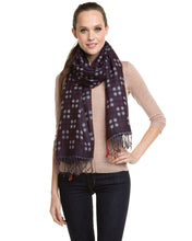 Load image into Gallery viewer, Wild Berry Checkered Scarf