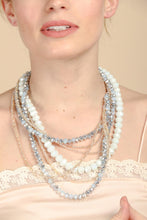 Load image into Gallery viewer, Lunar Beaded Collar Necklace