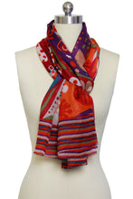 Load image into Gallery viewer, Multi Pattern Colorful Scarf
