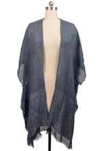 Load image into Gallery viewer, Lenox Kimono CHARCOAL