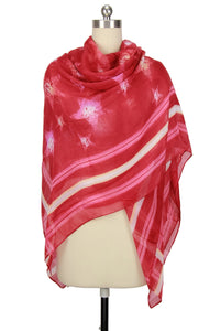 Star Combo Printed Scarf
