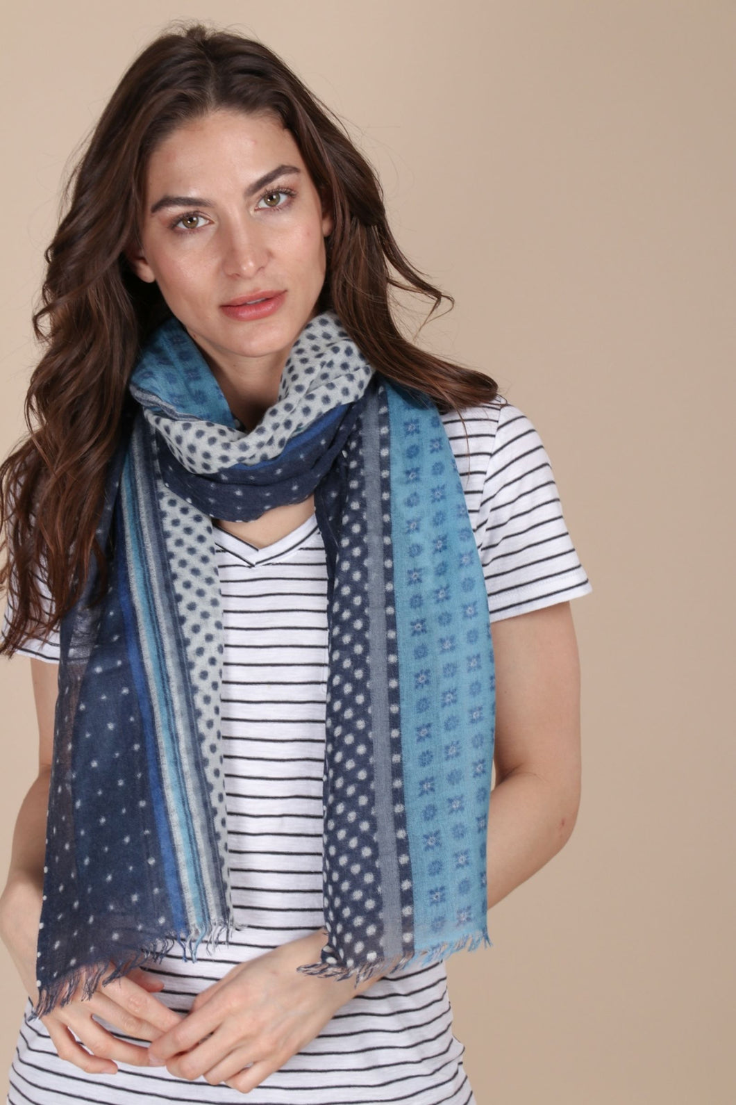 Mix All Over Oblong Scarf