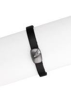 Load image into Gallery viewer, Sliced Crystal Leather Bracele