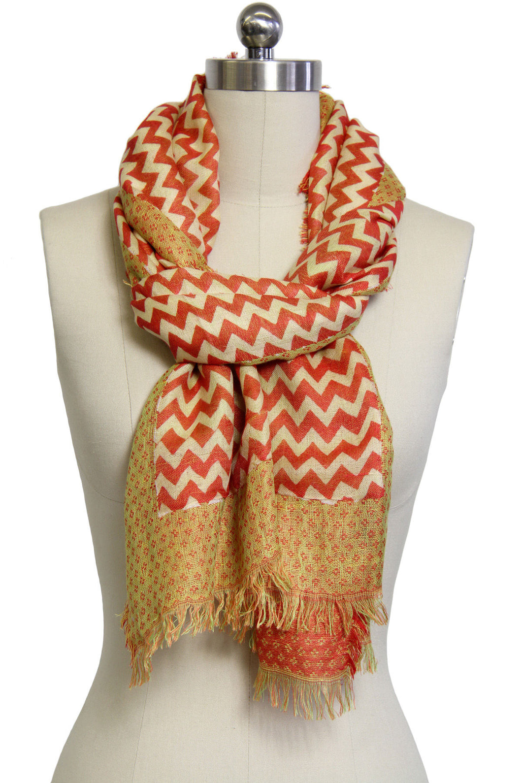 Mabel Chevron Scarf