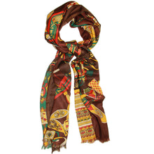 Load image into Gallery viewer, In the Wild Mixed Print Scarf