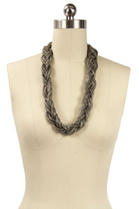 Braided Chain- Silver