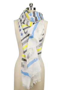 Crossing Paths Striped Scarf