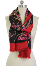 Load image into Gallery viewer, Winnie Floral Chain Scarf