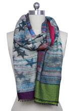 Load image into Gallery viewer, Reversible Star Woven Scarf