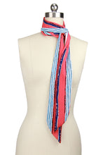 Load image into Gallery viewer, Skinny Striped Scarf