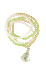 Load image into Gallery viewer, Multi Beaded Tassel Necklace