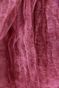 Diaphanous Pleated Lightweight