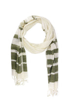 Load image into Gallery viewer, Two Toned Striped Scarf