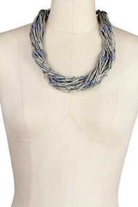 Multi Strand Statement Necklac