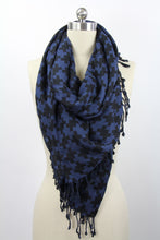 Load image into Gallery viewer, Houndstooth Print Scarf