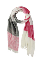 Load image into Gallery viewer, Zinnia Striped Scarf