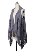 Load image into Gallery viewer, Suede Fringe Vest