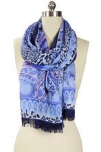 Load image into Gallery viewer, Atalie Animal Paisley Scarf